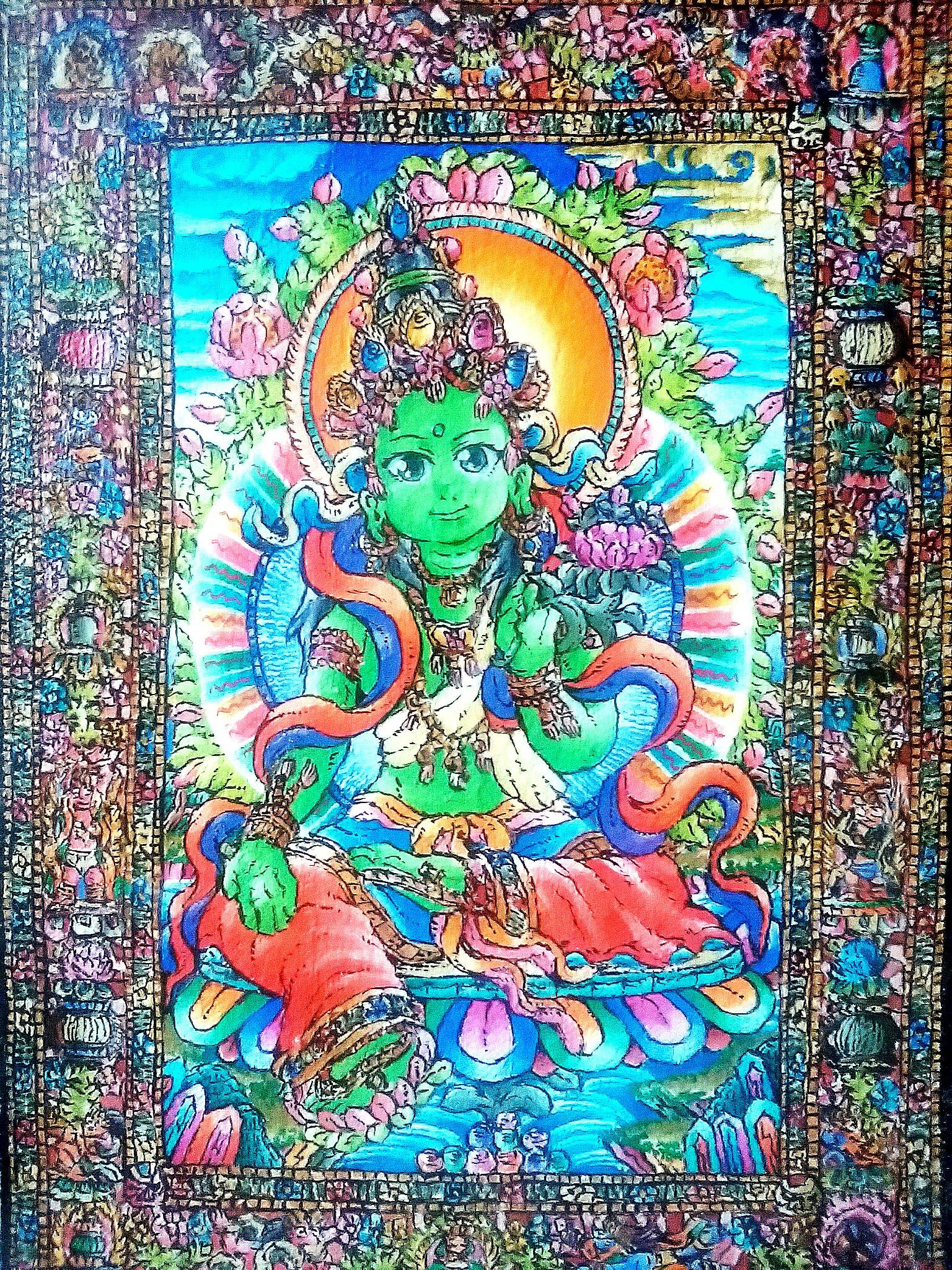 【絵(仏画)の表現方法】仏画のルールとアレンジした絵の描き方とは?