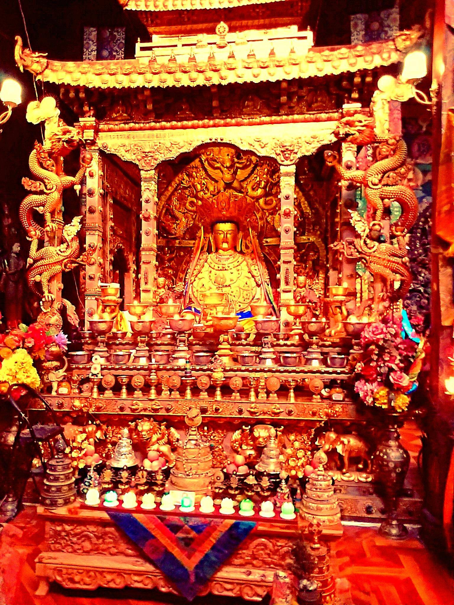 隠れたチベット美術スポット『東チベット・ラガンにある曼荼羅世界』