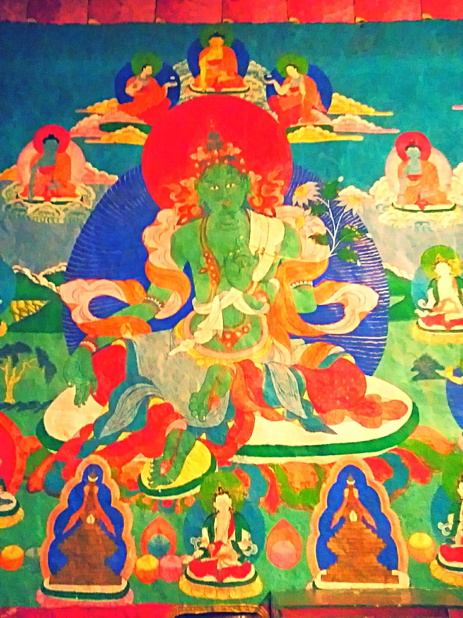 衆生を救う観音菩薩の化身ターラ菩薩とめくるめく女神崇拝の世界への旅