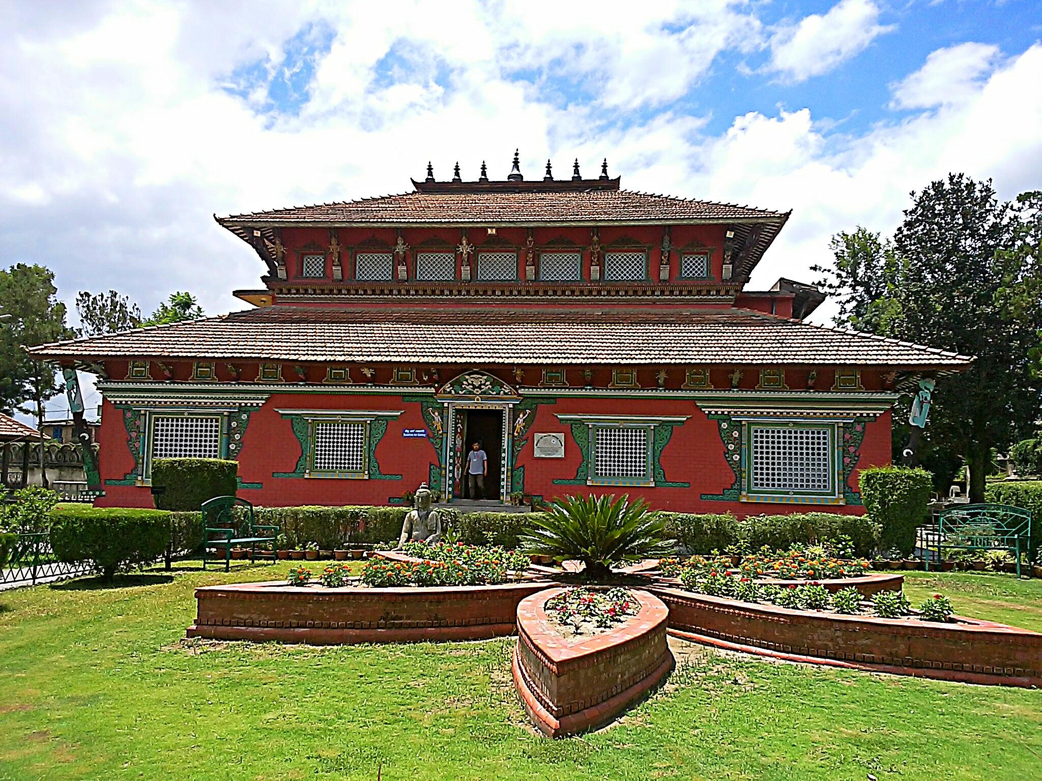 ネパールの仏教美術を間近に見れる国立博物館の行き方
