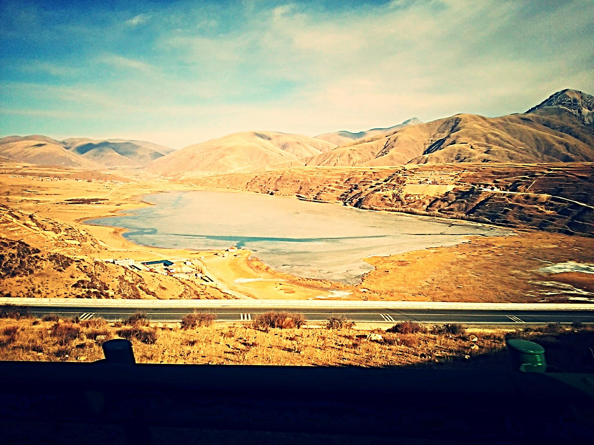 【絶景】東チベットの巨大湖『カサル・ツォを見た!』