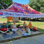 愛の神様クリシュナのマントラを豪国でヒンドゥー教団体から教わる!