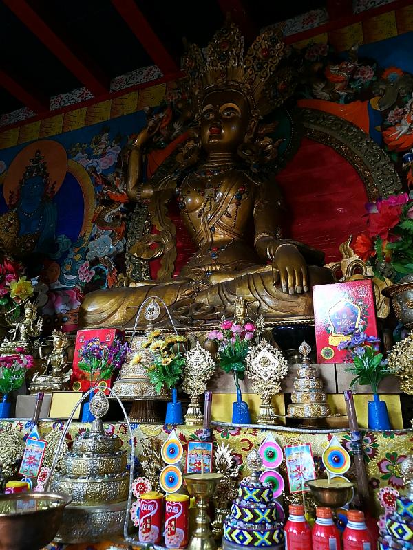 チベットの町マルカム(四川省馬爾康)でボン教の神様達と出会った話