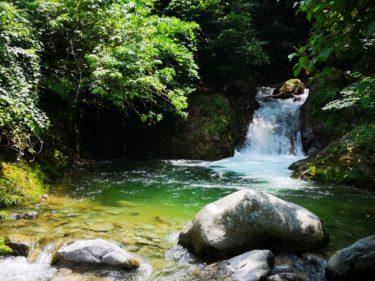 天然のプールで泳げる!阿賀野市の魚止めの滝の魅力とは?