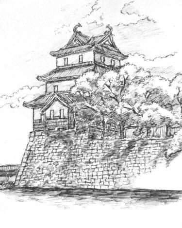 悠久の歴史を感じられる城スケッチの魅力と描き方を紹介!