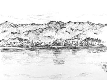 山をスケッチするためのオススメの場所や描き方・道具を紹介!