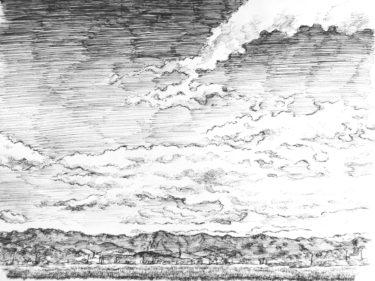 雲・空のスケッチ!魅力的な雲の描き方を大公開