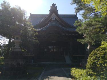 『新発田の鬼子母神』顕法寺の住職にインタビューしてみた話